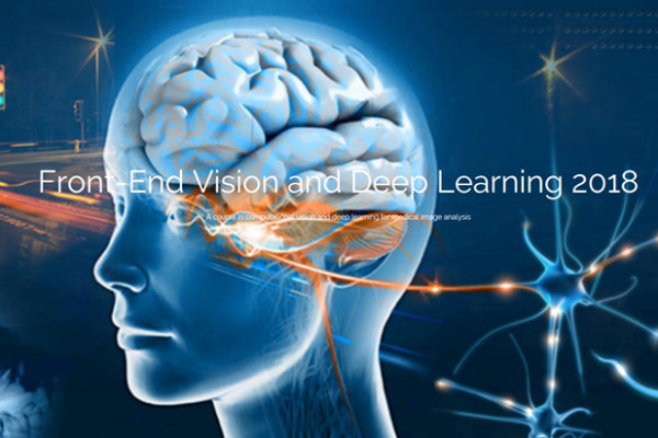 Front-End Vision and Deep learning 2018 logo